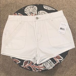 NWT White Free People Shorts
